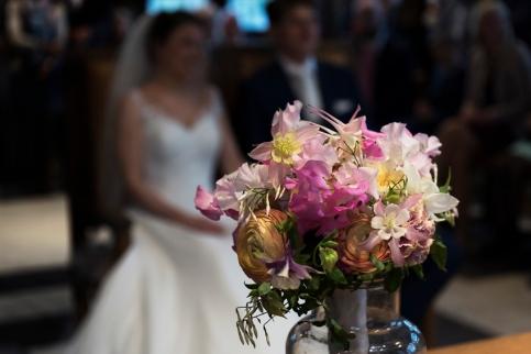 huwelijksfotografie, bruidsboeket
