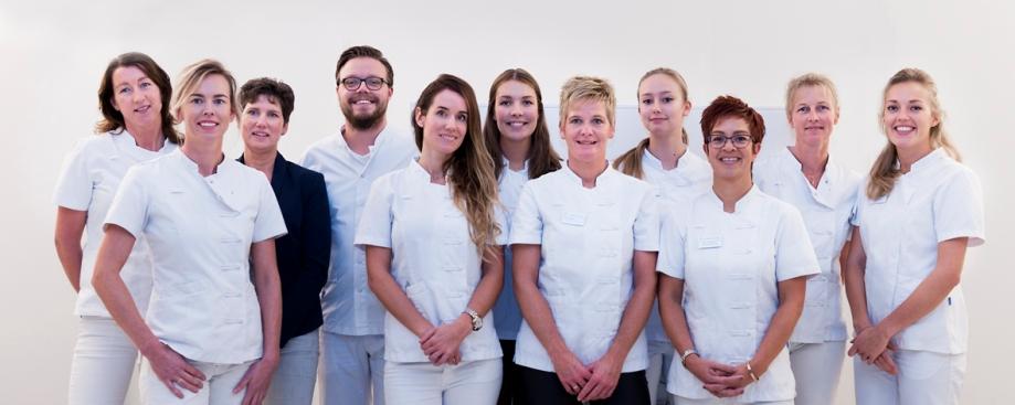 tandartspraktijk, interieurfotografie, groepsportret