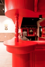 MFC, detail bar zaal, Ontwerpstudio Nynke Terpstra